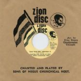 Sons Of Negus Churchical Host - Take Your Bible & Read It / There Is A Green Hill Far Away (Zion Disc / Dub Store Records) JPN 7""